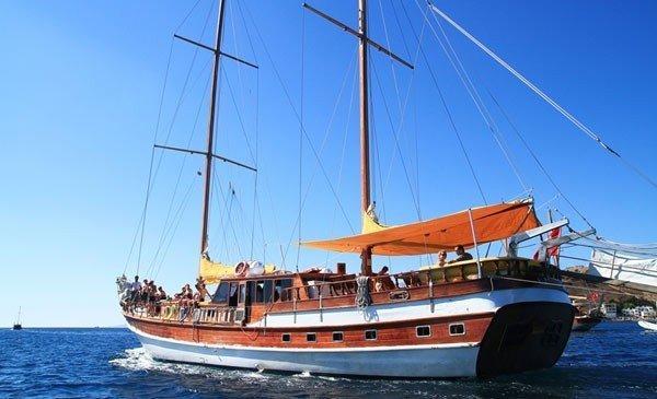 Греческие Острова Бодрум Yacht Richmond Vi