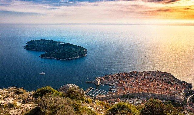Выберите Хорватию