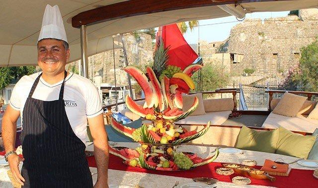 Кулинарные и гастрономические круизы на яхтах