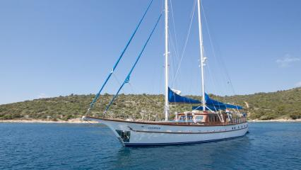 Парусная яхта Luopan