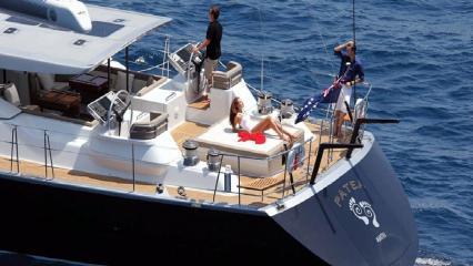 Парусная яхта Patea
