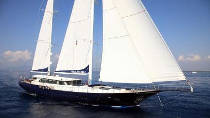 Perla Del Mare Парусная яхта