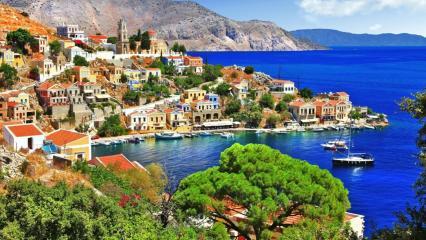 Мармарис - греческие острова