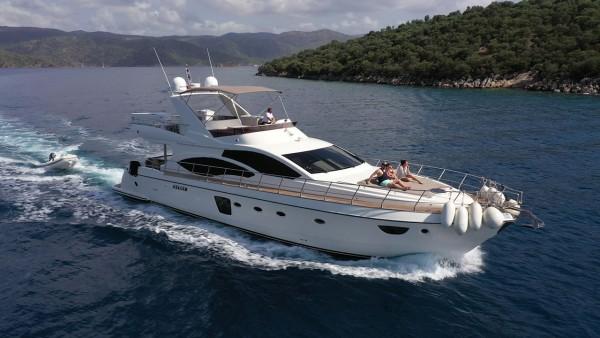 Bormus 1 Моторная яхта