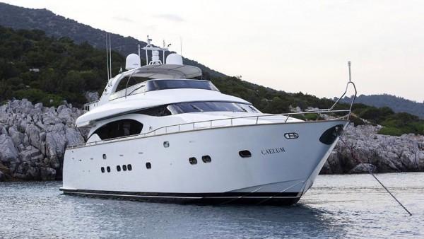 Моторная яхта Caelum