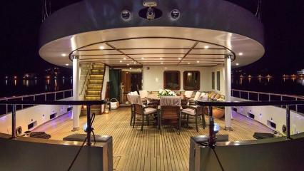 Моторная яхта Donna Del Mare