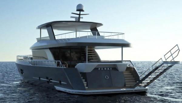 Моторная яхта Floki