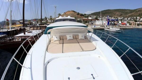 Моторная яхта Mina II