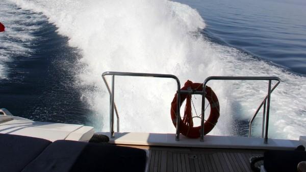 Моторная яхта Miracle