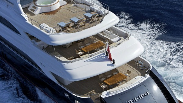 Моторная яхта Oneiro
