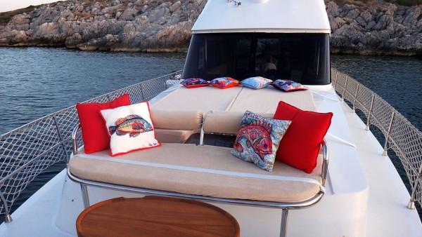 Моторная яхта Syana