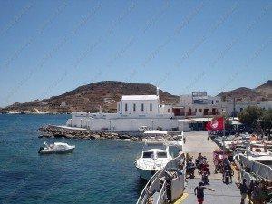 Остров Кимолос